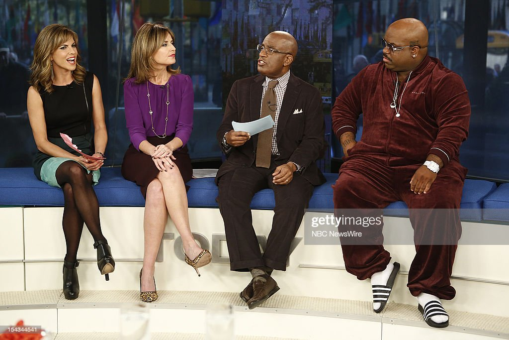 <a gi-track='captionPersonalityLinkClicked' href=/galleries/search?phrase=Natalie+Morales+-+News+Anchor&family=editorial&specificpeople=710956 ng-click='$event.stopPropagation()'>Natalie Morales</a>, <a gi-track='captionPersonalityLinkClicked' href=/galleries/search?phrase=Savannah+Guthrie&family=editorial&specificpeople=653313 ng-click='$event.stopPropagation()'>Savannah Guthrie</a>, <a gi-track='captionPersonalityLinkClicked' href=/galleries/search?phrase=Al+Roker&family=editorial&specificpeople=206153 ng-click='$event.stopPropagation()'>Al Roker</a> and Cee Lo Green appear on NBC News' 'Today' show --