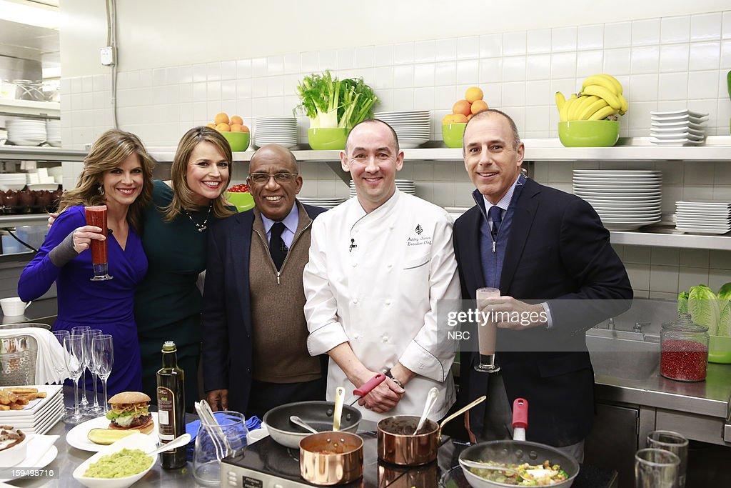 Natalie Morales, Savannah Guthrie, Al Roker, Chef Ashley James, Matt Lauer --