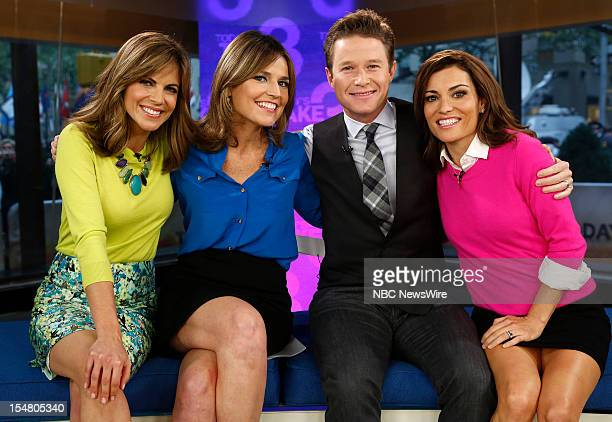 Natalie Morales Savannah Guthrie Billy Bush and Kit Hoover appear on NBC News' 'Today' show