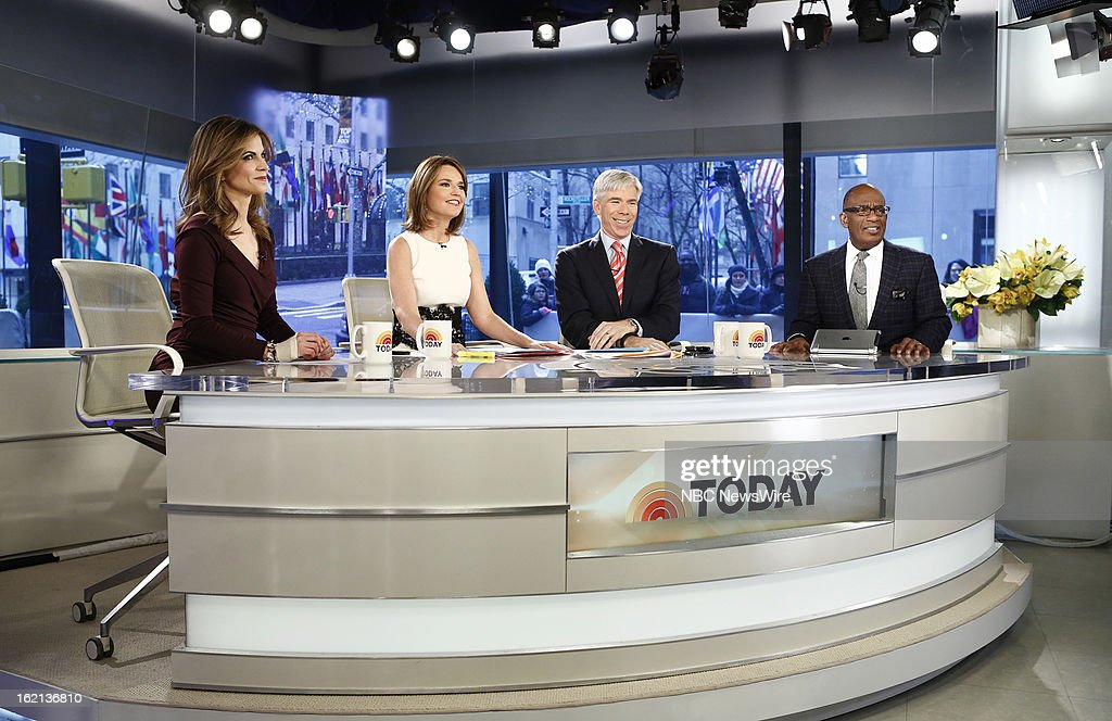 "NBC's ""Today"" With Guests Joan Rivers, Melissa Rivers, Sunny Anderson, Anjelica Huston, Mark Sanford"