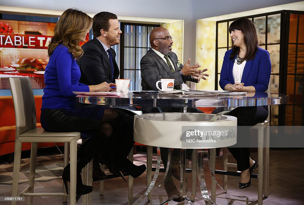 Natalie Morales, Willie Geist, Al Roker and Anna Post appear on NBC News' 'Today' show --