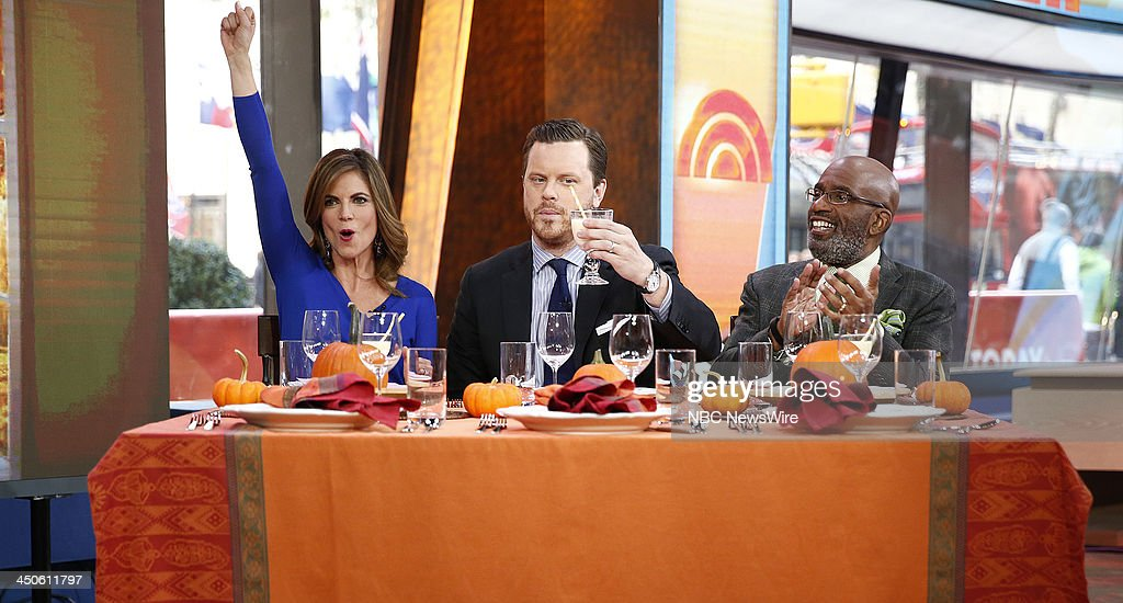 Natalie Morales, Willie Geist and Al Roker appear on NBC News' 'Today' show --
