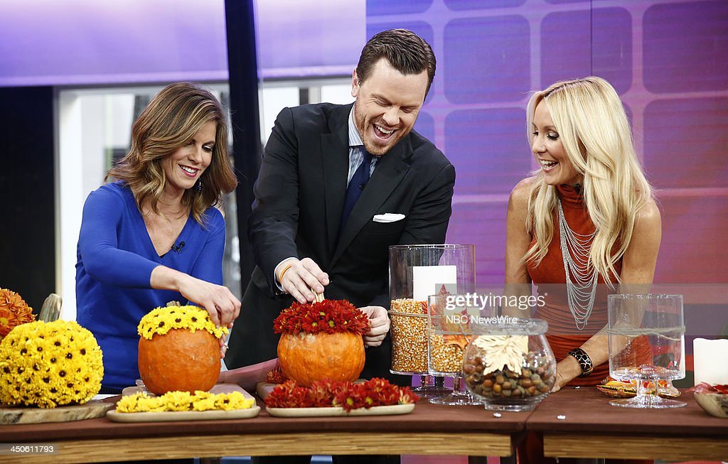 Natalie Morales, Willie Geist and Chassie Post appear on NBC News' 'Today' show --