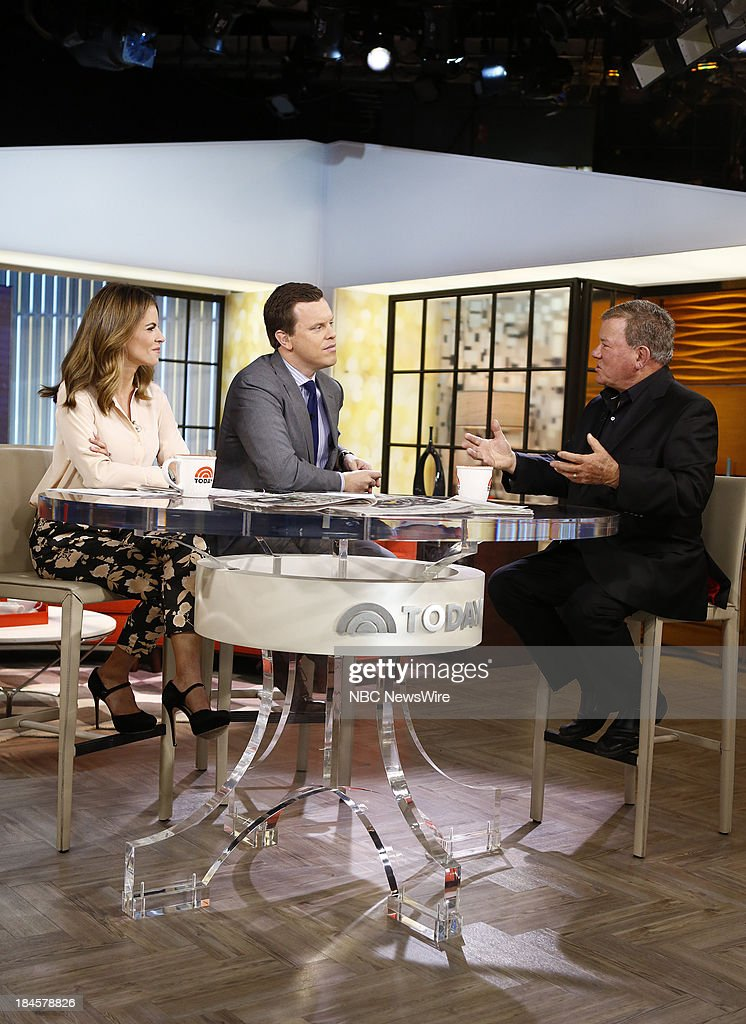 <a gi-track='captionPersonalityLinkClicked' href=/galleries/search?phrase=Natalie+Morales+-+News+Anchor&family=editorial&specificpeople=710956 ng-click='$event.stopPropagation()'>Natalie Morales</a>, Willie Geist and <a gi-track='captionPersonalityLinkClicked' href=/galleries/search?phrase=William+Shatner&family=editorial&specificpeople=202461 ng-click='$event.stopPropagation()'>William Shatner</a> appear on NBC News' 'Today' show --