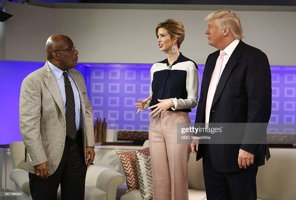 NBC News' Al Roker, 'All-Star Celebrity Apprentice's' Ivanka Trump and Donald Trump appear on NBC News' 'Today' show --