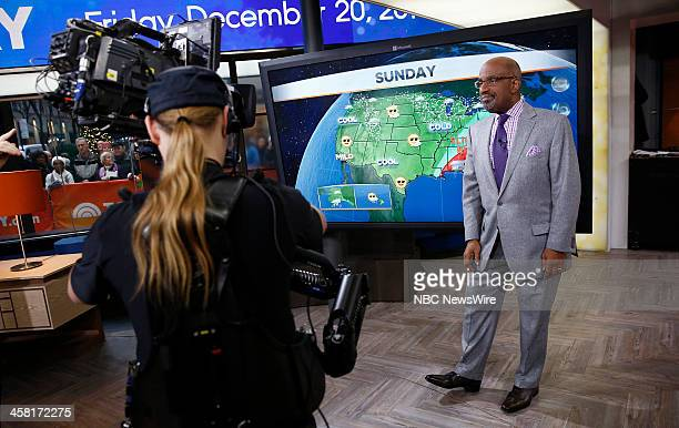 NBC News' Al Roker appears on NBC News' 'Today' show on December 20 2013