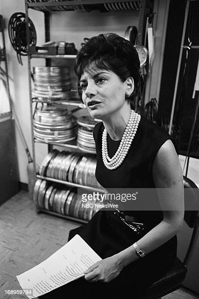 NBC News' Barbara Walters in 1965