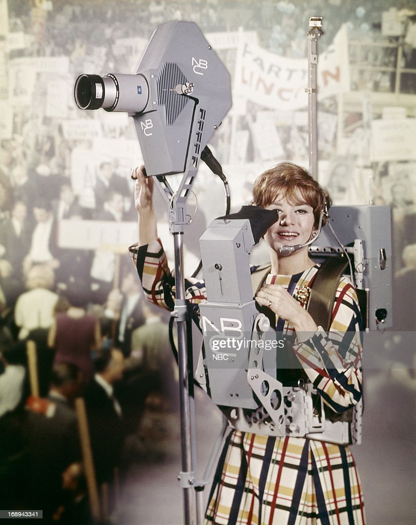 NBC News' Barbara Walters in 1968 --