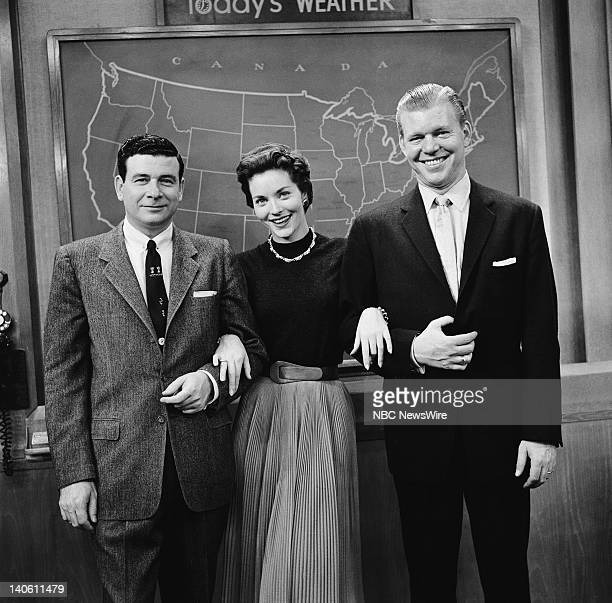 NBC News' Frank Blair Lee Meriwether Jack Lescoulie in 1956 Photo by NBC/NBC NewsWire