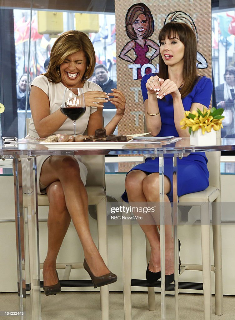 NBC News' <a gi-track='captionPersonalityLinkClicked' href=/galleries/search?phrase=Hoda+Kotb&family=editorial&specificpeople=2338013 ng-click='$event.stopPropagation()'>Hoda Kotb</a> and guest host <a gi-track='captionPersonalityLinkClicked' href=/galleries/search?phrase=Whitney+Cummings&family=editorial&specificpeople=240395 ng-click='$event.stopPropagation()'>Whitney Cummings</a> appear on NBC News' 'Today' show on March 21, 2013 --