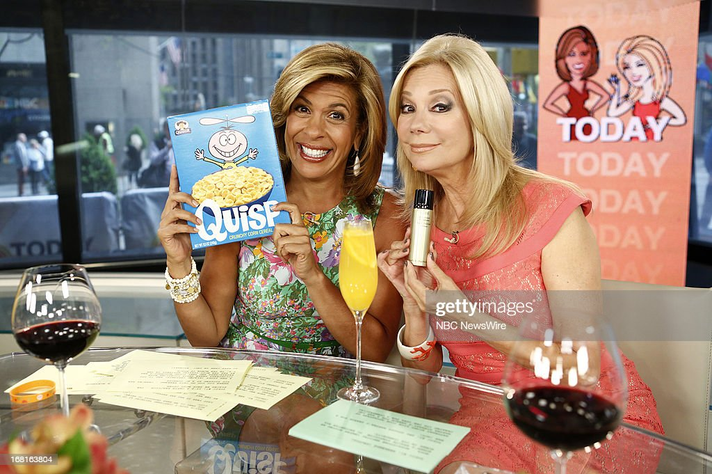 NBC News' <a gi-track='captionPersonalityLinkClicked' href=/galleries/search?phrase=Hoda+Kotb&family=editorial&specificpeople=2338013 ng-click='$event.stopPropagation()'>Hoda Kotb</a> and <a gi-track='captionPersonalityLinkClicked' href=/galleries/search?phrase=Kathie+Lee+Gifford&family=editorial&specificpeople=203269 ng-click='$event.stopPropagation()'>Kathie Lee Gifford</a> appear on NBC News' 'Today' show on May 6, 2013 --