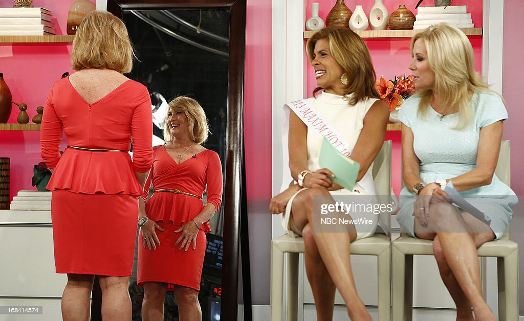 NBC News' Hoda Kotb and Kathie Lee Gifford appear on NBC News' 'Today' show on May 9, 2013 --