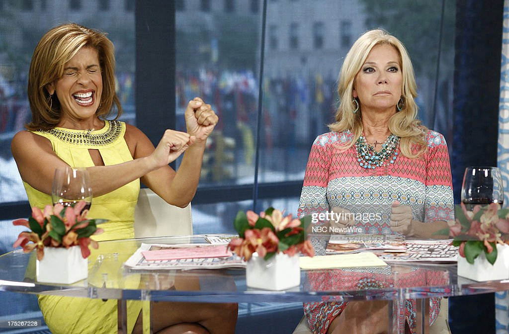 Nbc 39 s today with guests bill paxton joseph dellger - Nbc today show kathie lee and hoda ...