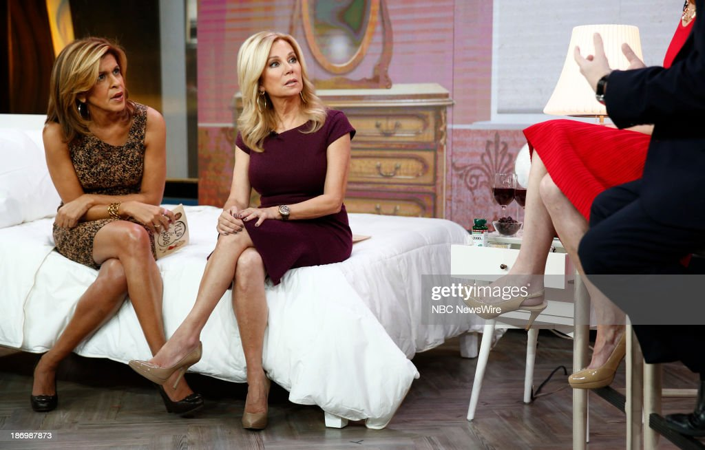 NBC News' <a gi-track='captionPersonalityLinkClicked' href=/galleries/search?phrase=Hoda+Kotb&family=editorial&specificpeople=2338013 ng-click='$event.stopPropagation()'>Hoda Kotb</a> and <a gi-track='captionPersonalityLinkClicked' href=/galleries/search?phrase=Kathie+Lee+Gifford&family=editorial&specificpeople=203269 ng-click='$event.stopPropagation()'>Kathie Lee Gifford</a> appear on NBC News' 'Today' show on November 5, 2013 --