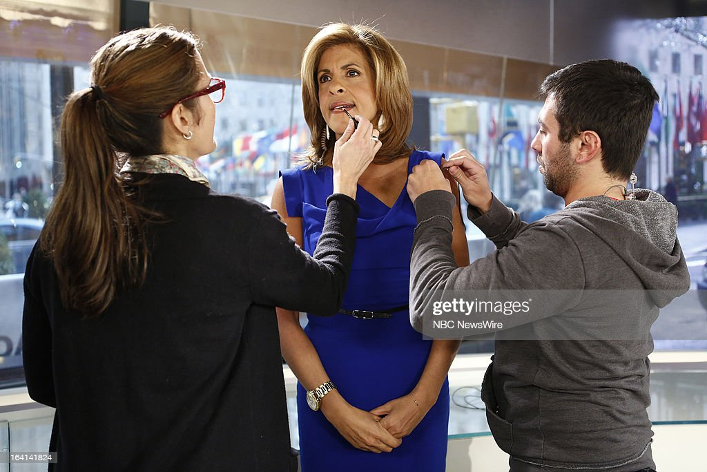 NBC News' Hoda Kotb appears on NBC News' 'Today' show on March 20, 2013 --