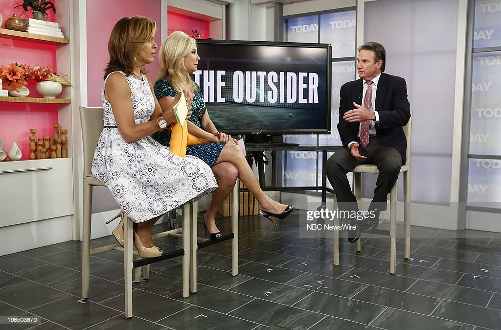 NBC News' <a gi-track='captionPersonalityLinkClicked' href=/galleries/search?phrase=Hoda+Kotb&family=editorial&specificpeople=2338013 ng-click='$event.stopPropagation()'>Hoda Kotb</a>, <a gi-track='captionPersonalityLinkClicked' href=/galleries/search?phrase=Kathie+Lee+Gifford&family=editorial&specificpeople=203269 ng-click='$event.stopPropagation()'>Kathie Lee Gifford</a> and tennis player <a gi-track='captionPersonalityLinkClicked' href=/galleries/search?phrase=Jimmy+Connors&family=editorial&specificpeople=157507 ng-click='$event.stopPropagation()'>Jimmy Connors</a> appear on NBC News' 'Today' show on May 10, 2013 --