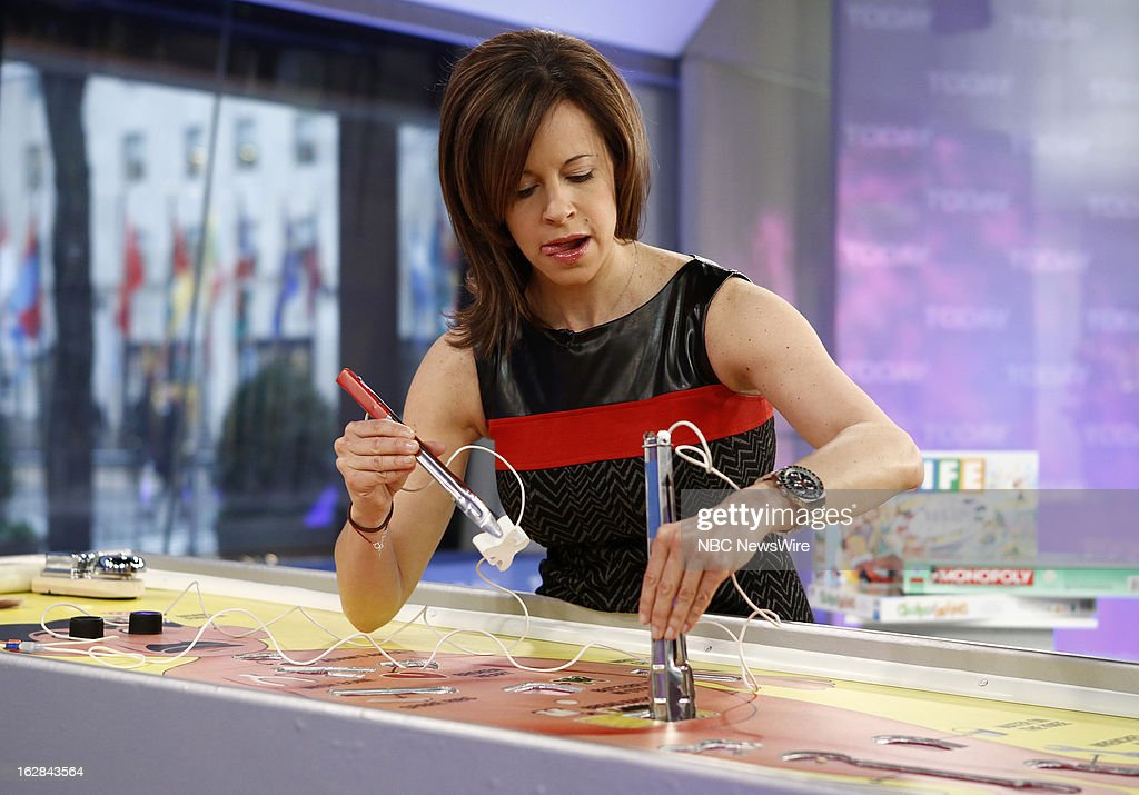 NBC News' Jenna Wolfe appears on NBC News' 'Today' show on February 28, 2013 --