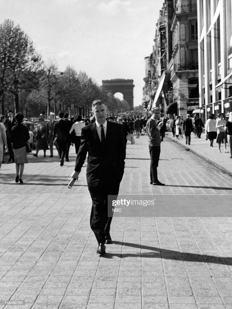 NBC News' John Rich in Paris, France in 1961 on May 1, 1961 --