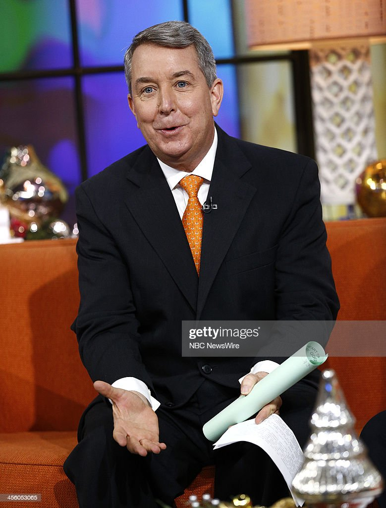 NBC News' Kerry Sanders appears on NBC News' 'Today' show on December 13, 2013 --