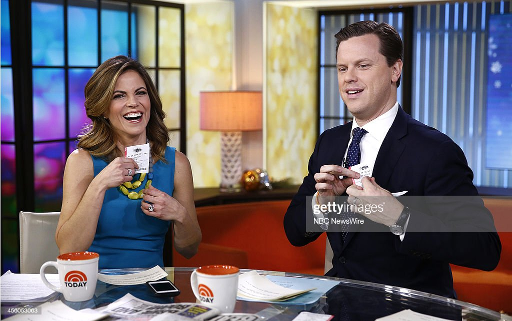 NBC News' <a gi-track='captionPersonalityLinkClicked' href=/galleries/search?phrase=Natalie+Morales+-+News+Anchor&family=editorial&specificpeople=710956 ng-click='$event.stopPropagation()'>Natalie Morales</a> and Willie Geist appear on NBC News' 'Today' show on December 13, 2013 --