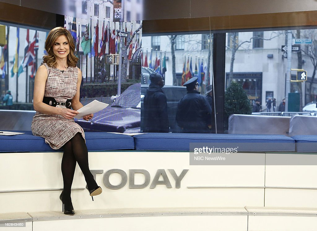 NBC News' Natalie Morales appears on NBC News' 'Today' show on February 28, 2013 --