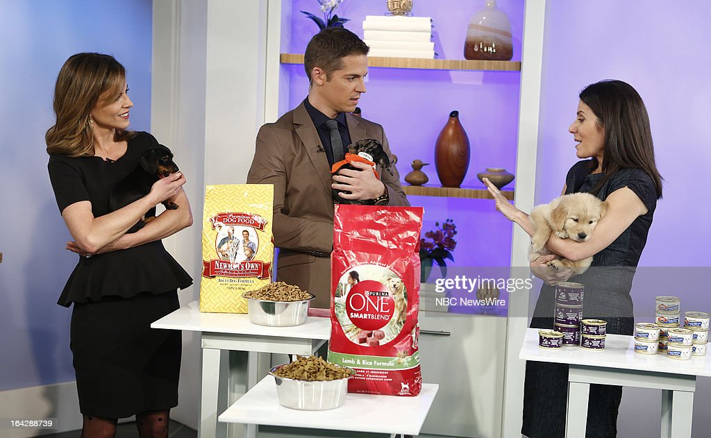 NBC News' Natalie Morales, E!'s Jason Kennedy and TODAY financial editor Jean Chatzky appear on NBC News' 'Today' show on March 22, 2013 --