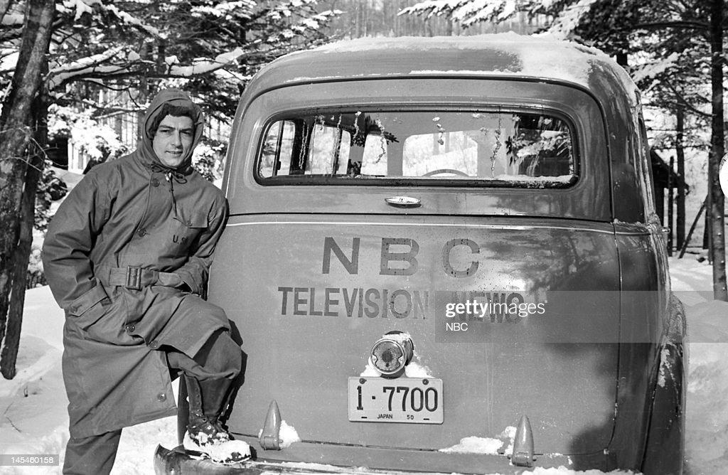 NBC News photographer Julie Zenier in Japan in 1951 --