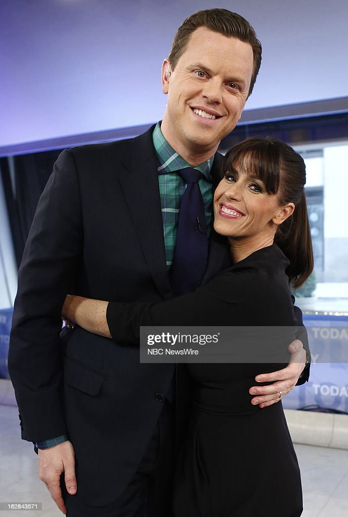 NBC News' Willie Geist and Soleil Moon Frye appear on NBC News' 'Today' show on February 28, 2013 --