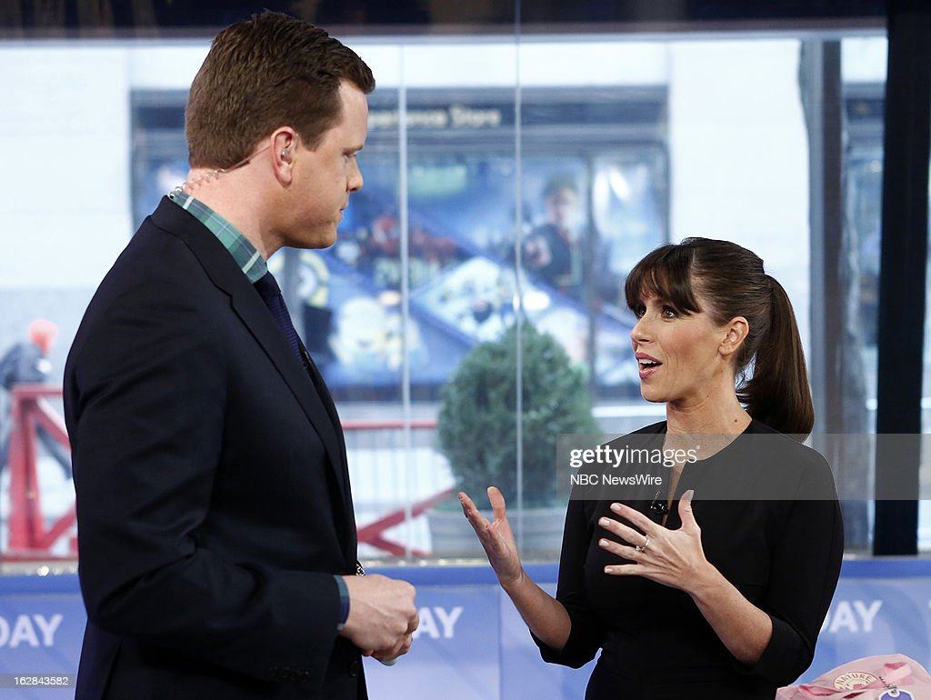 NBC News' Willie Geist and <a gi-track='captionPersonalityLinkClicked' href=/galleries/search?phrase=Soleil+Moon+Frye&family=editorial&specificpeople=228286 ng-click='$event.stopPropagation()'>Soleil Moon Frye</a> appear on NBC News' 'Today' show on February 28, 2013 --