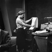NBC News' Women's Editor Estelle Parsons in 1954 Photo by NBC/NBC NewsWire