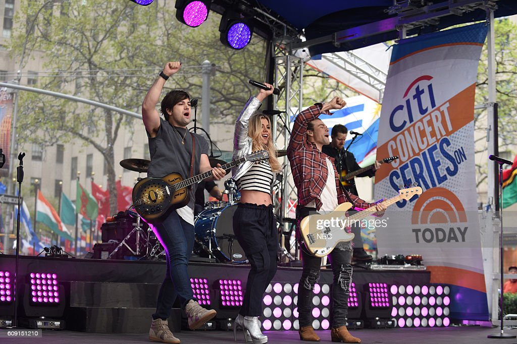 "NBC's ""Today"" With guests U.S. Olympians, The Band Perry"
