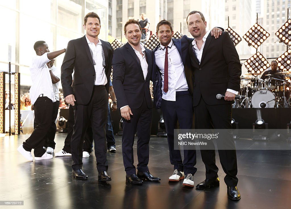 <a gi-track='captionPersonalityLinkClicked' href=/galleries/search?phrase=Nick+Lachey&family=editorial&specificpeople=201832 ng-click='$event.stopPropagation()'>Nick Lachey</a>, <a gi-track='captionPersonalityLinkClicked' href=/galleries/search?phrase=Drew+Lachey&family=editorial&specificpeople=550274 ng-click='$event.stopPropagation()'>Drew Lachey</a>, <a gi-track='captionPersonalityLinkClicked' href=/galleries/search?phrase=Jeff+Timmons&family=editorial&specificpeople=994981 ng-click='$event.stopPropagation()'>Jeff Timmons</a>, <a gi-track='captionPersonalityLinkClicked' href=/galleries/search?phrase=Justin+Jeffre&family=editorial&specificpeople=994982 ng-click='$event.stopPropagation()'>Justin Jeffre</a> of Musical group 98 Degrees appears on NBC News' 'Today' show --