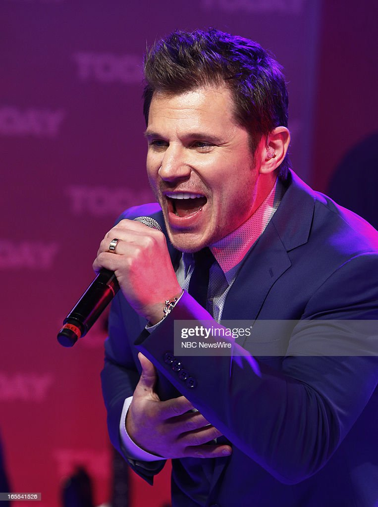 <a gi-track='captionPersonalityLinkClicked' href=/galleries/search?phrase=Nick+Lachey&family=editorial&specificpeople=201832 ng-click='$event.stopPropagation()'>Nick Lachey</a> of 98 Degrees appears on NBC News' 'Today' show --