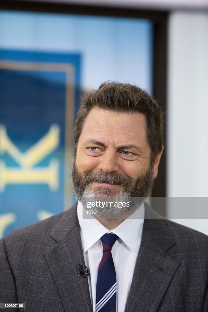 Nick Offerman on Friday, June 30, 2017 --