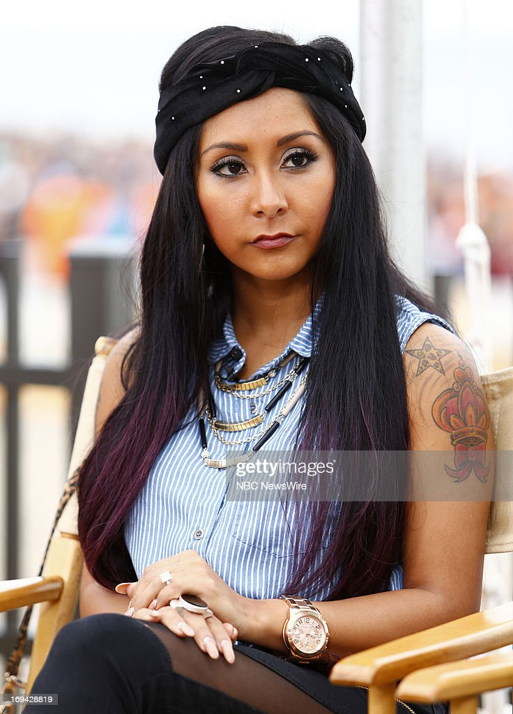 Nicole Polizzi appears on NBC News' 'Today' show --