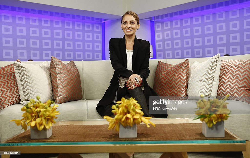 Nicole Richie appears on NBC News' 'Today' show --