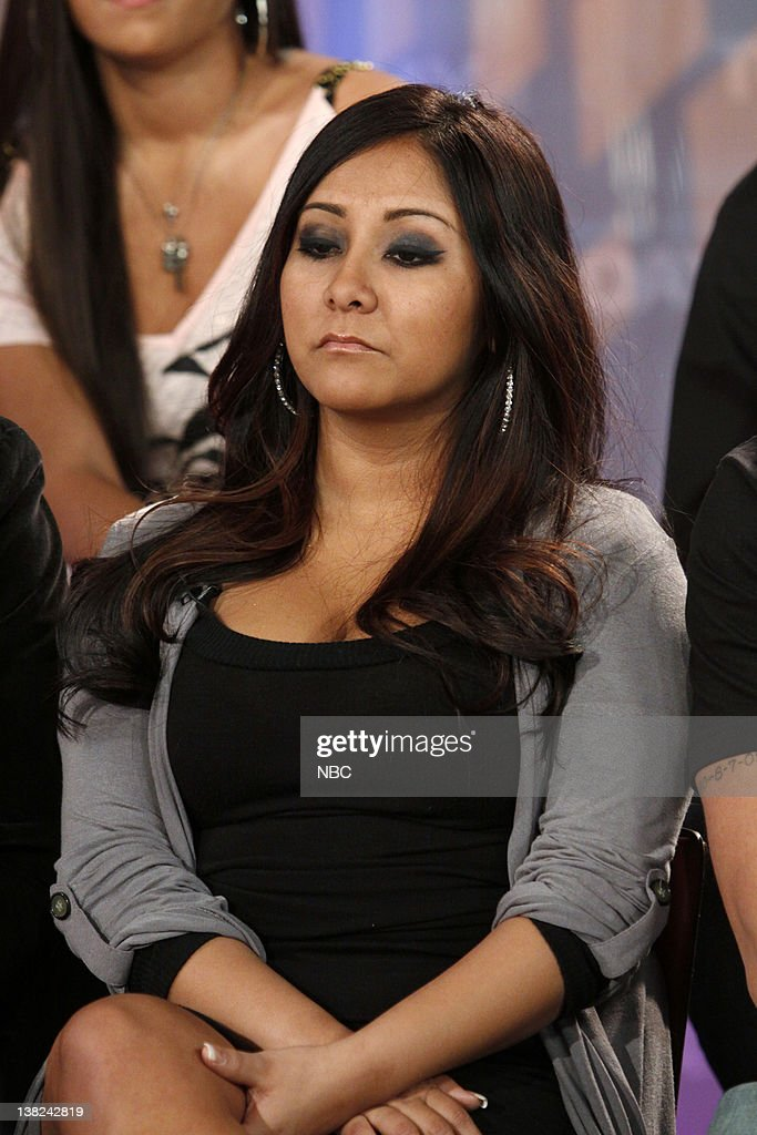 Nicole 'Snooki' Polizzi The cast of MTV's wildly popular reality show 'The Jersey Shore' talk to NBC News' Meredith Vieira about their second season