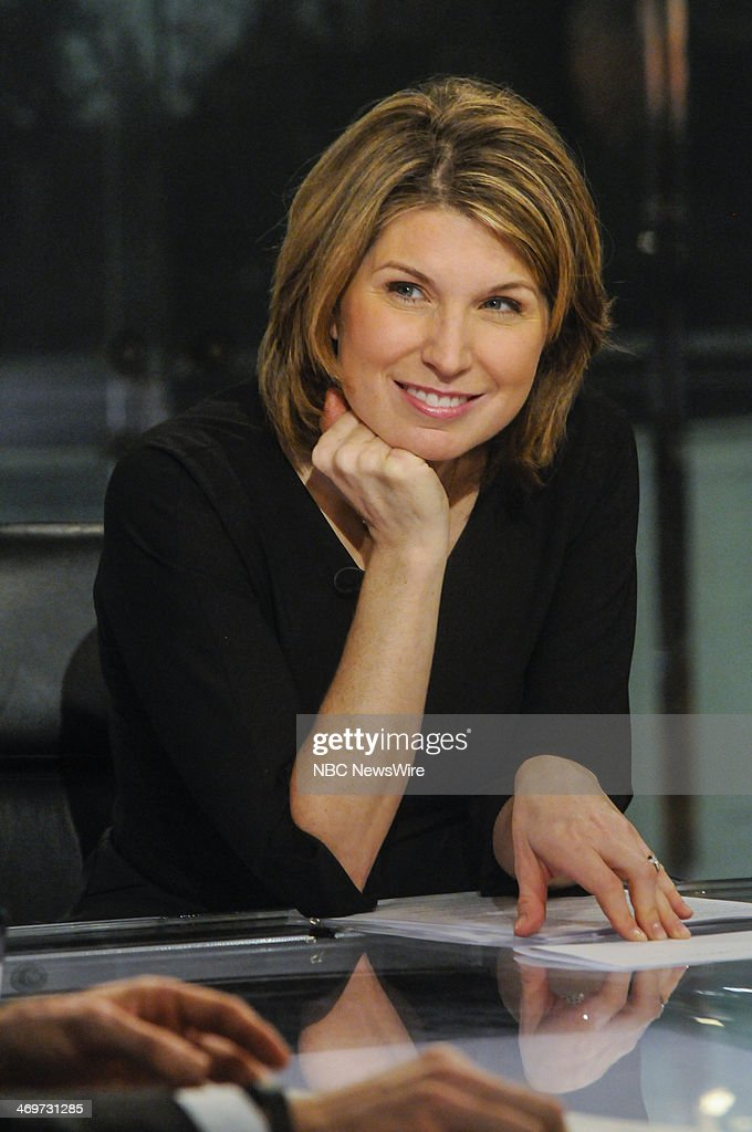 Nicolle Wallace, Republican Strategist, appears on 'Meet the Press' in Washington, D.C., Sunday, Feb. 16, 2014.