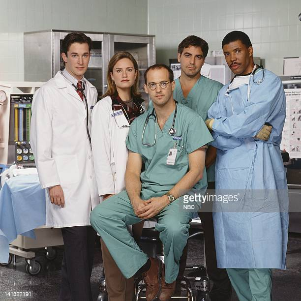Noah Wyle as Doctor John Carter Sherry Stringfield as Doctor Susan Lewis Anthony Edwards as Doctor Mark Greene George Clooney as Doctor Doug Ross...