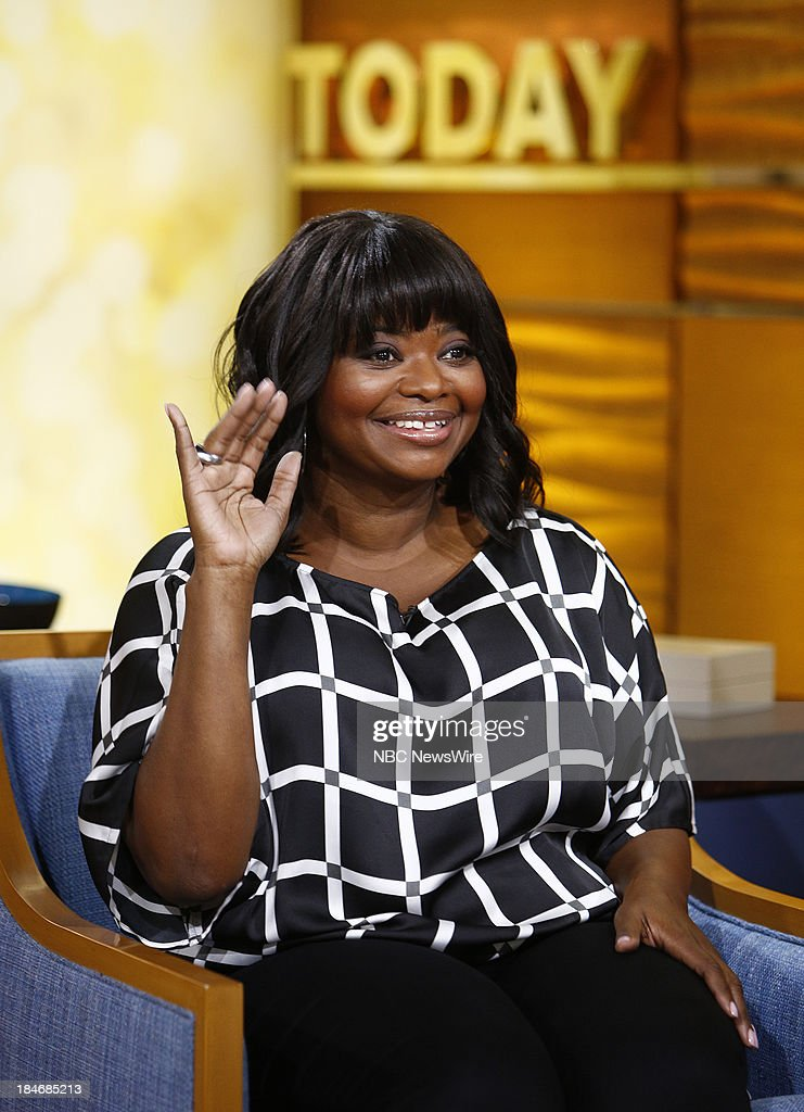 Octavia Spencer appears on NBC News' 'Today' show --