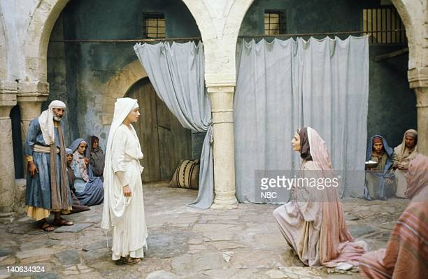 Olivia Hussey as Mary the mother of Jesus Marina Berti as Elizabeth Photo by NBC/NBCU Photo Bank