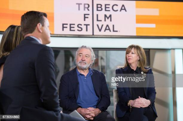 Oscarwinning actor Robert De Niro and producer Jane Rosenthal founded the Tribeca Film Festival 15 years ago They join TODAY to talk about some new...