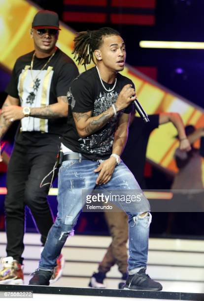 Ozuna during rehearsals at the Watsco Center in the University of Miami Coral Gables Florida on April 27 2017