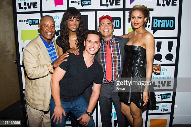 Ozzie Smith Aisha Tyler Matt McGorry Andy Cohen and Ciara Photo by Charles Sykes/Bravo/NBCU Photo Bank via Getty Images