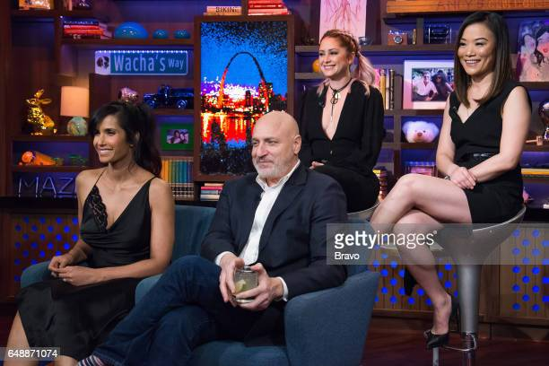 Padma Lakshmi Tom Colicchio Brooke Williamson and Shirley Chung