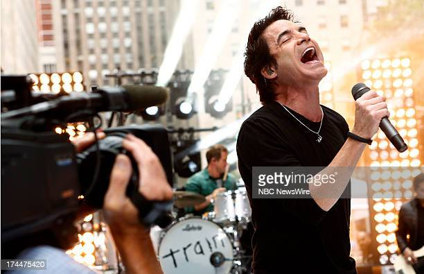 Pat Monahan of the music group Train appears on NBC News' 'Today' show
