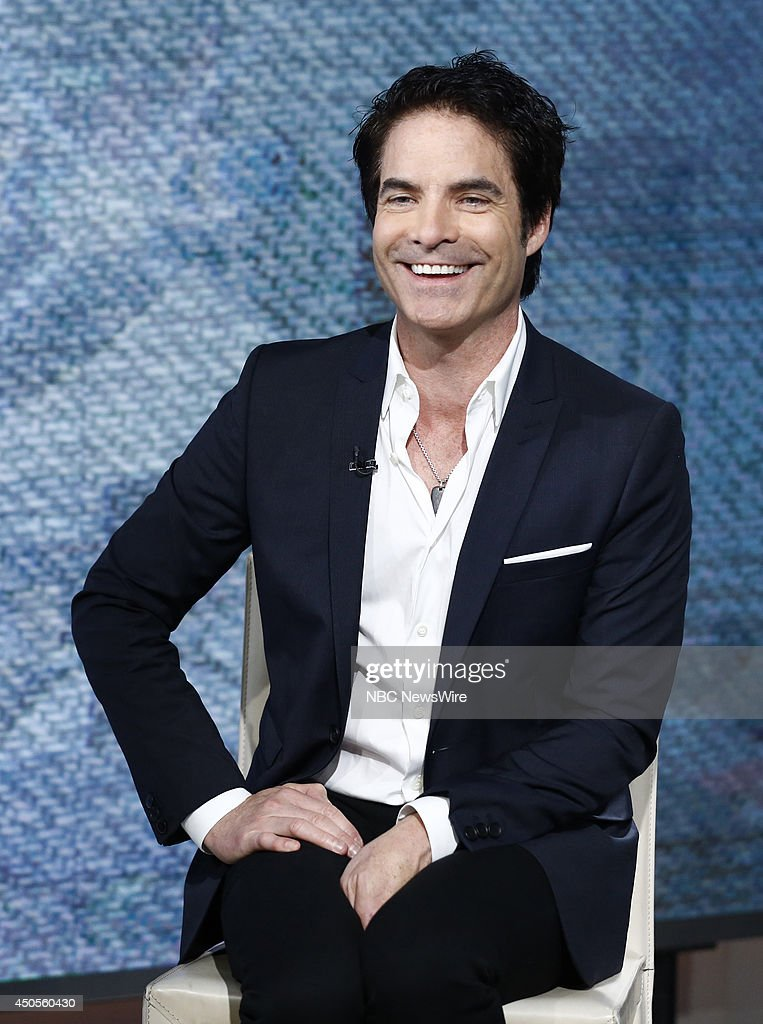 Pat Monahan of Train appears on NBC News' 'Today' show on June 13, 2014 --