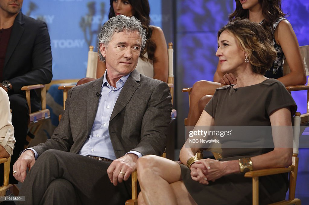 Patrick Duffy and Brenda Strong appear on NBC News' 'Today' show