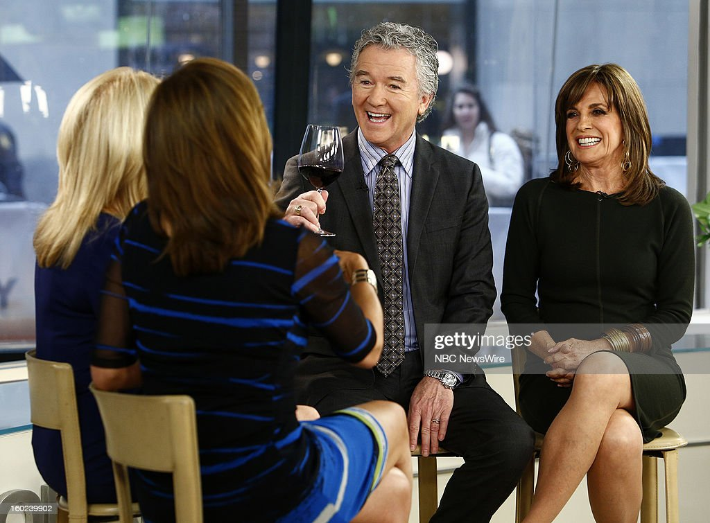 Patrick Duffy and Linda Gray appear on NBC News' 'Today' show --
