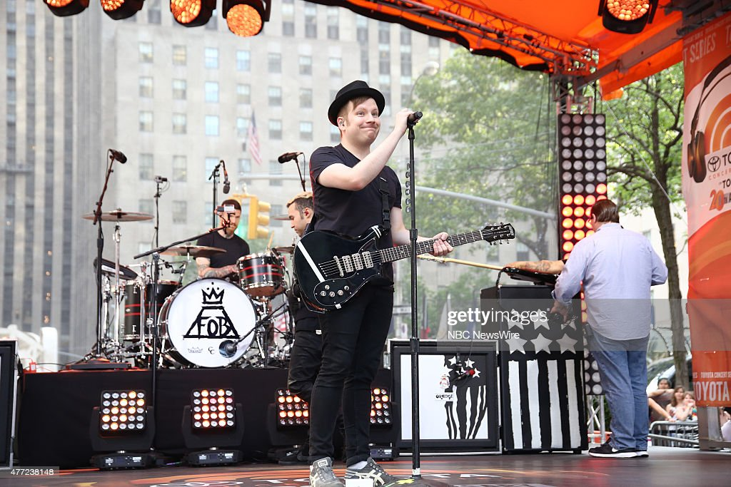 """NBC's """"Today"""" With Guests Fall Out Boy"""